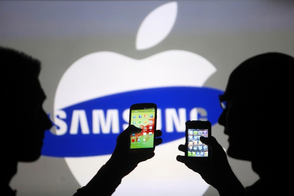 """Samsung"" ir ""Apple"""