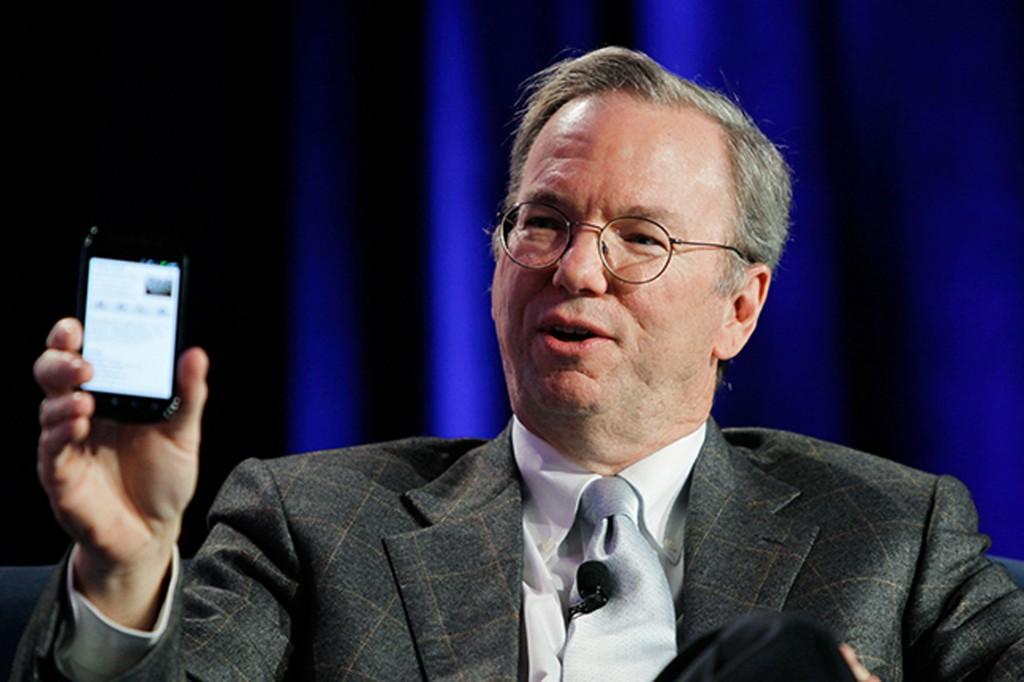 """""""Google"""" vadovas Ericas Schmidtas"""
