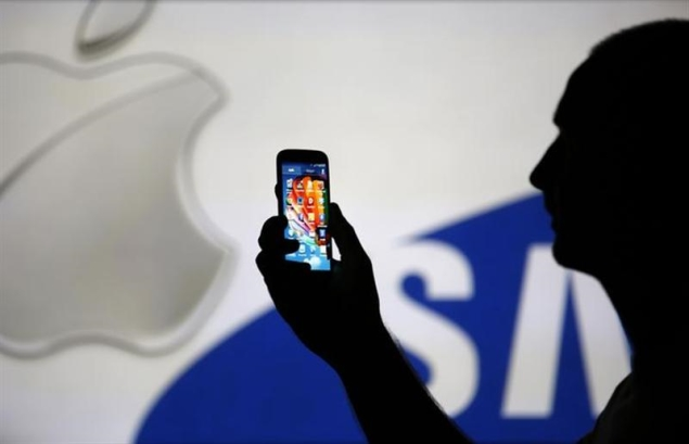 """Apple"" ir ""Samsung"""