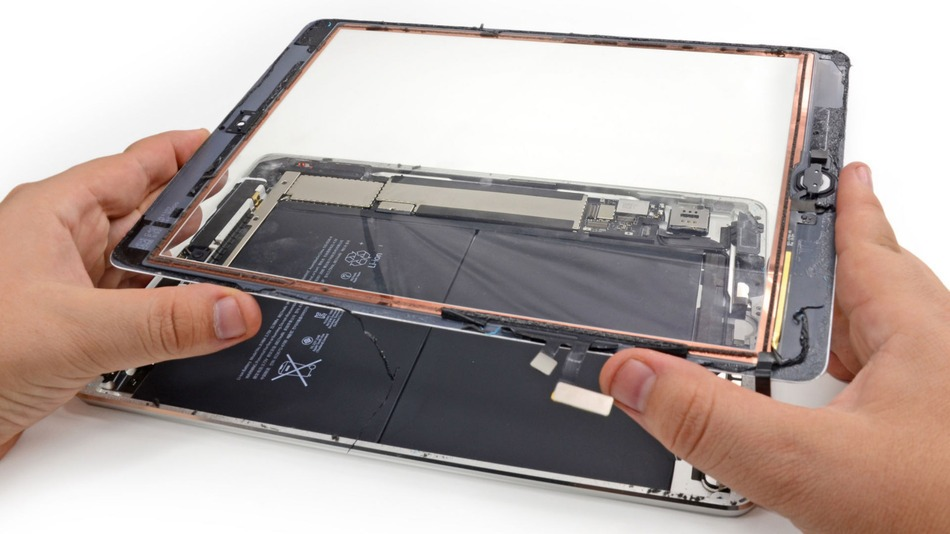 "Išardytas ""iPad Air"""