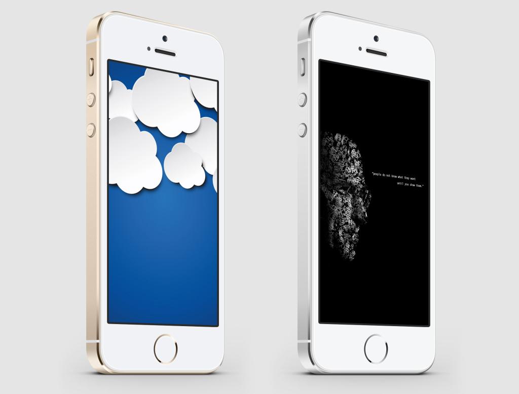 Savaitės darbalaukiai: debesys ir Steve'as Jobsas