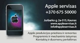 """Profesionali ir specializuota """"Apple"""" produkcijos priežiūra ir remontas"""