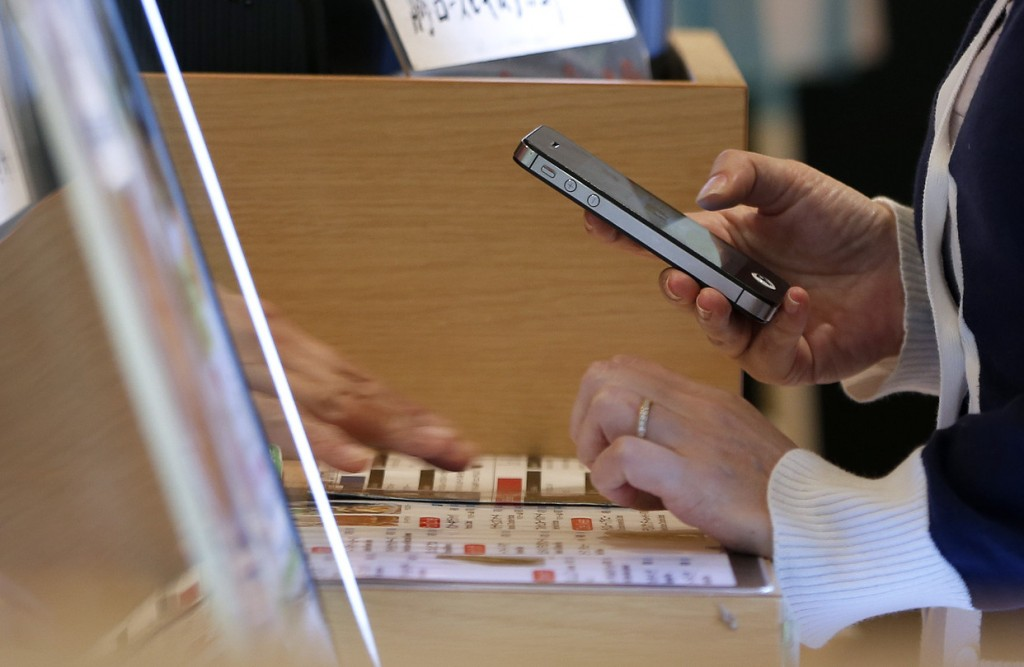 Atsiskaitymas išmaniuoju telefonu