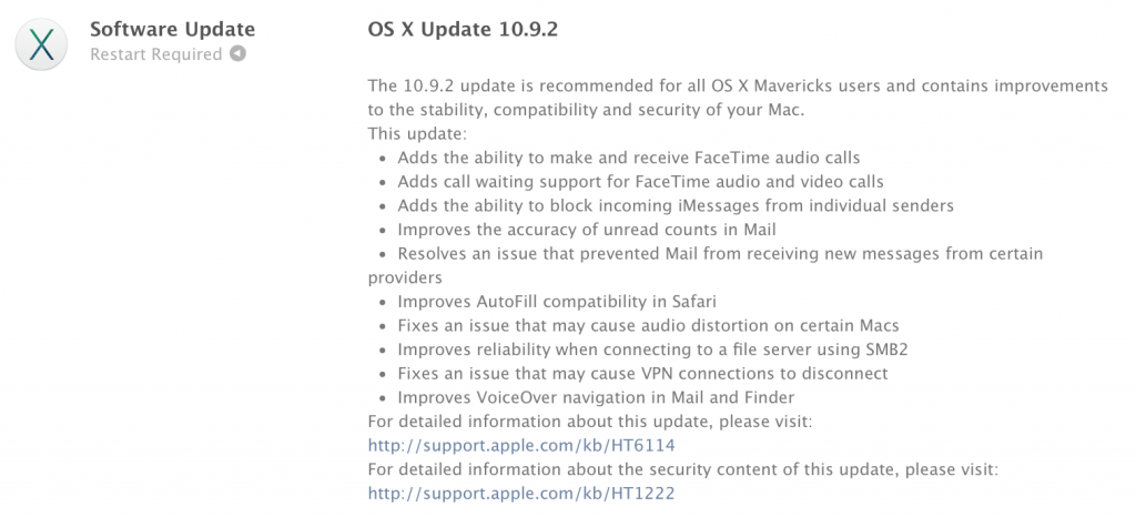 """OS X Mavericks 10.9.2"""