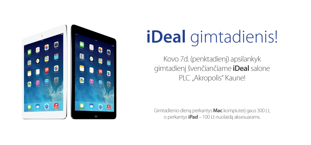"""iDeal"" gimtadienis / ideal.lt nuotr."
