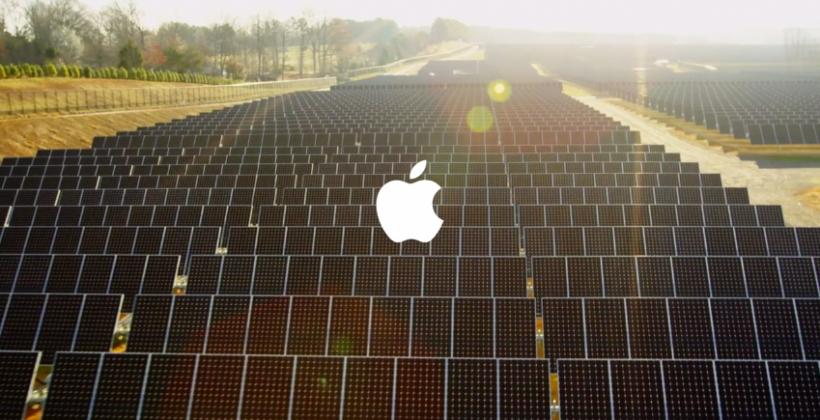 """Saulės energijos panaudojimas """"Apple"""" gamyklose / Youtube.com stopkadras"""