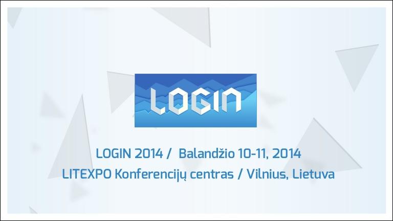 LOGIN 2014