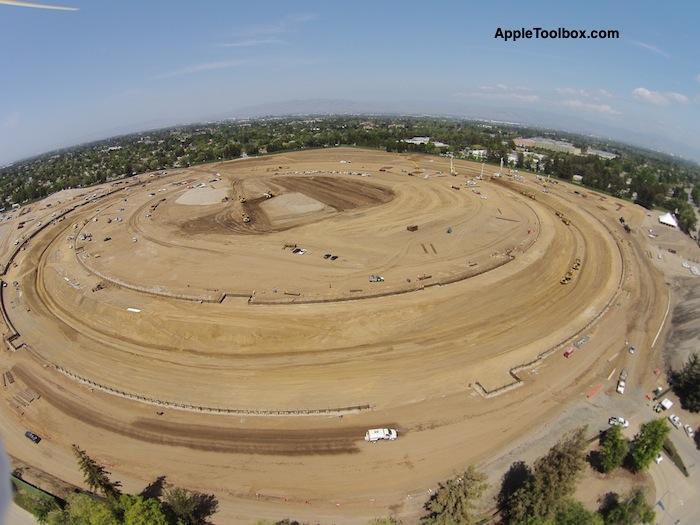 """Naujoji """"Apple"""" būstinė įgauna formą"""