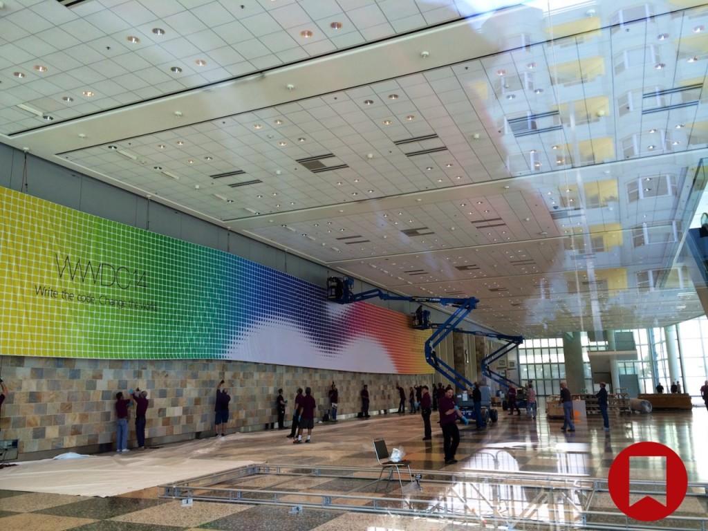 """""""Apple"""" pradėjo ruošti pastatą, kuriame pirmadienį prasidės konferencija WWDC 2014"""