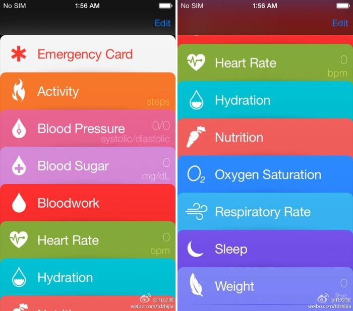 """Panašiai turėtų atrodyti gandais apipinta """"Healthbook"""" aplikacija"""