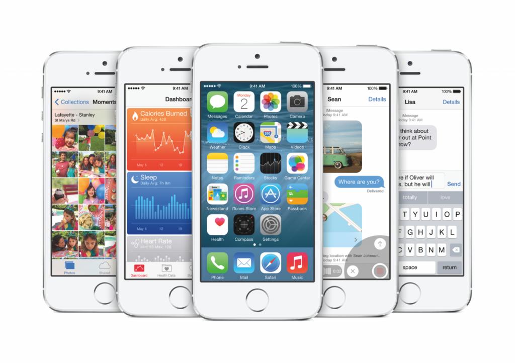 """Mobilioji operacinė sistema """"iOS 8"""""""