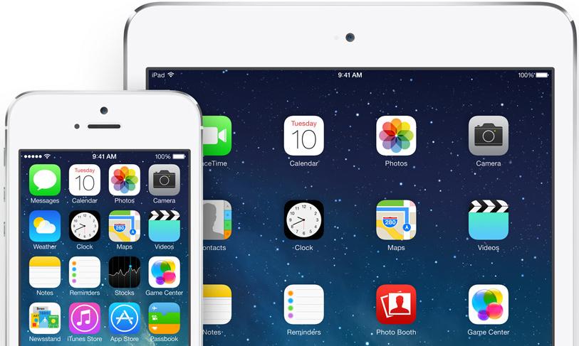 """""""iOS 7"""" įrenginiai"""
