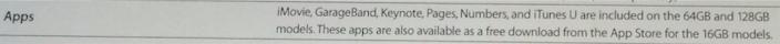 """Didžiausių talpų """"iPhone 6"""" ir """"iPhone 6 Plus"""" modeliuose jau bus instaliuotos """"iLife"""" ir """"iWork"""" programos."""
