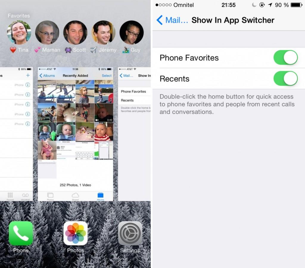 """""""iOS 8"""": kaip redaguoti arba pašalinti greitąsias kontaktų nuorodas?"""