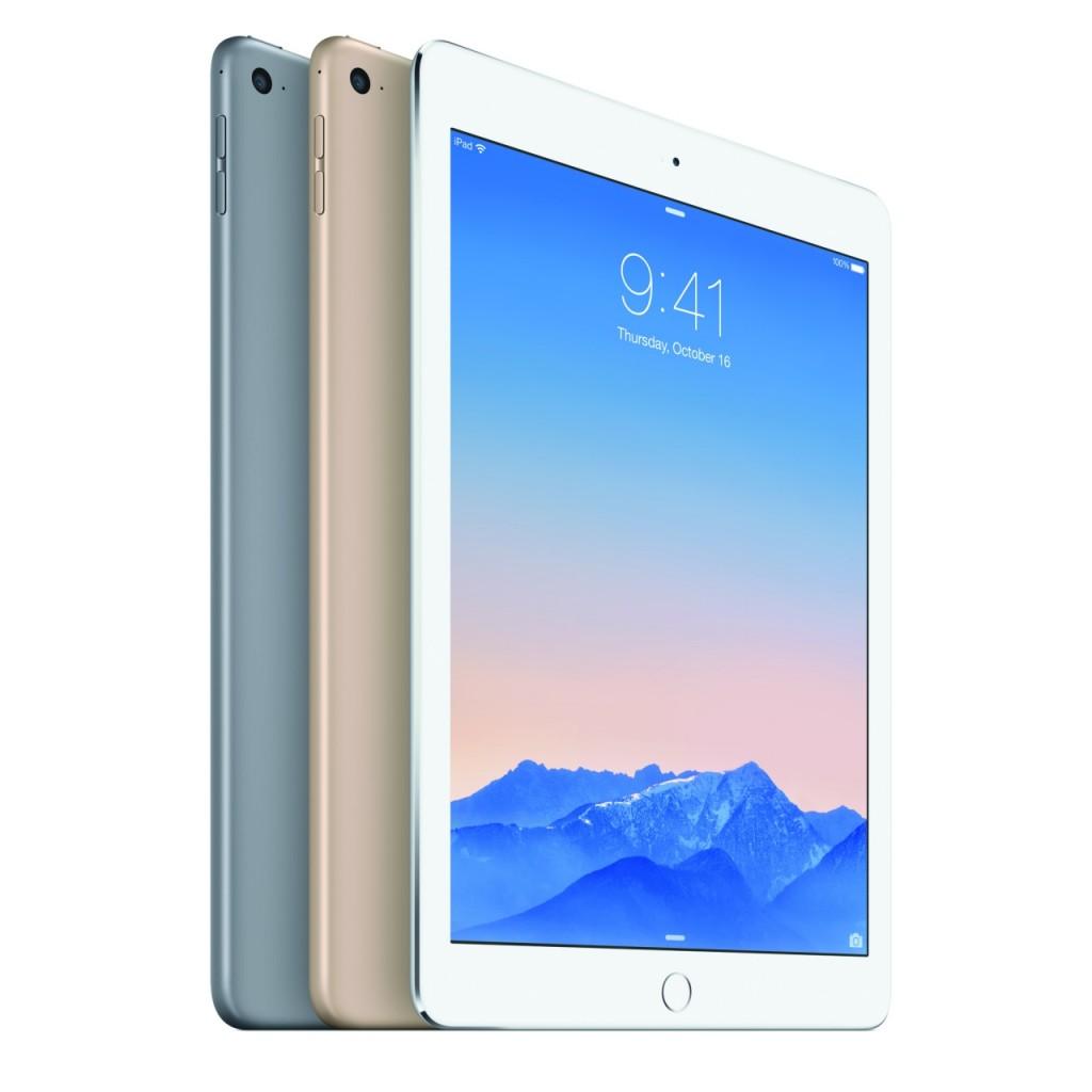 """""""Apple"""" pristatė atnaujintus planšetinius kompiuterius """"iPad Air 2"""" ir """"iPad mini 3"""""""