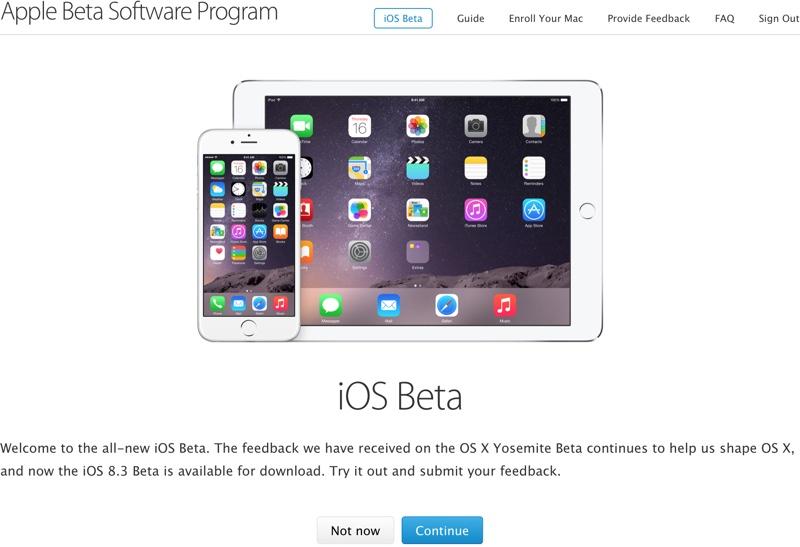 """""""iOS"""" bandomųjų versijų testavimas"""