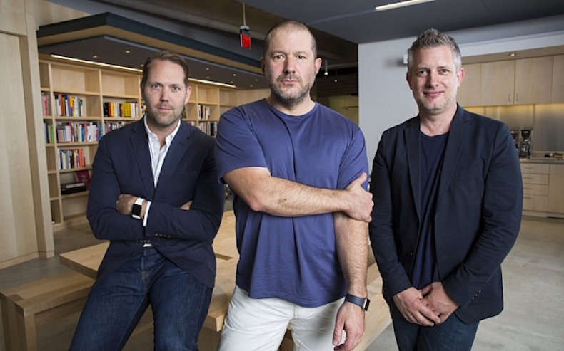 Jony Ive'as, Richas Howarthas, Alanas Dye