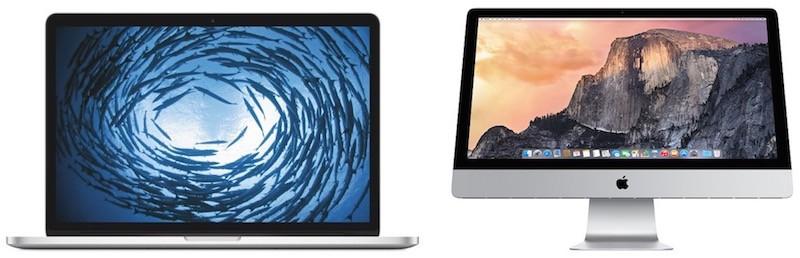 """""""iMac"""" ir """"MacBook Pro"""" kompiuteriai"""