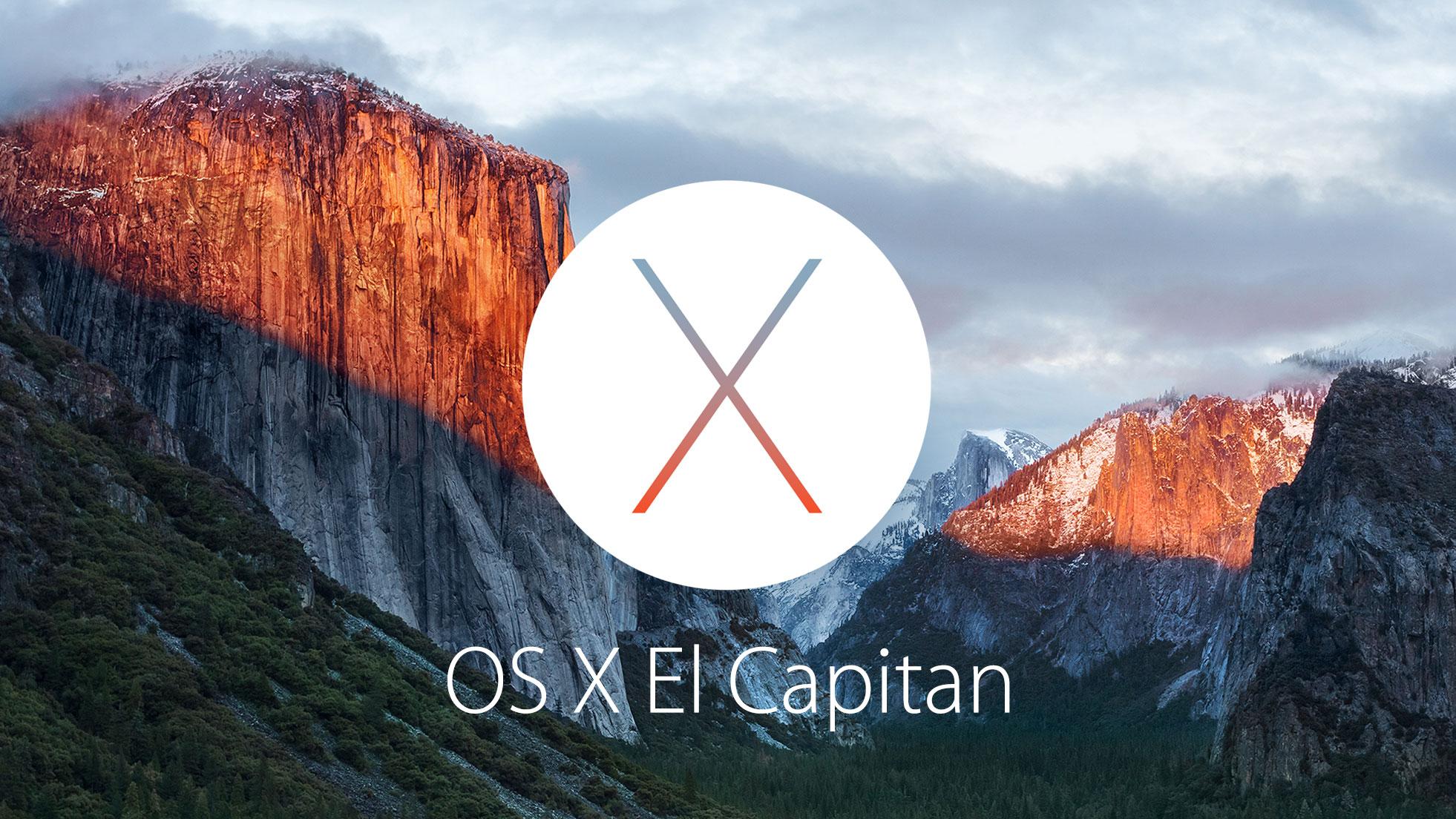 """""""OS X El Capitan"""""""