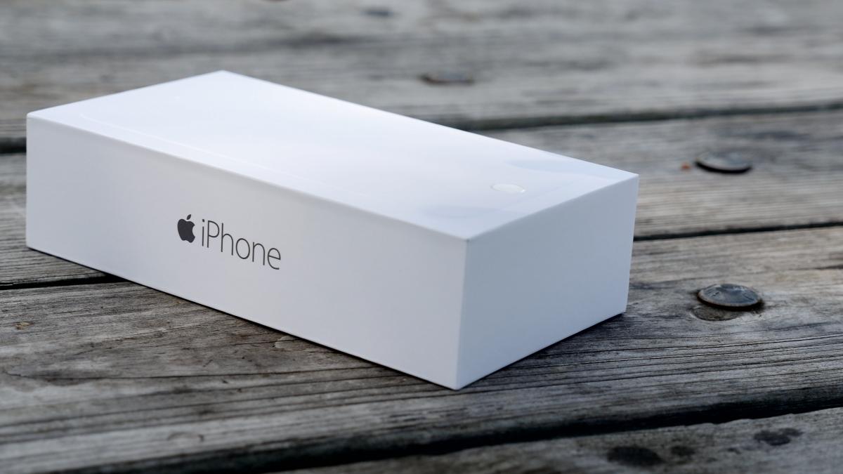 """iPhone 6"" įpakavimas"