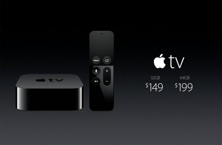 Apple TV kaina